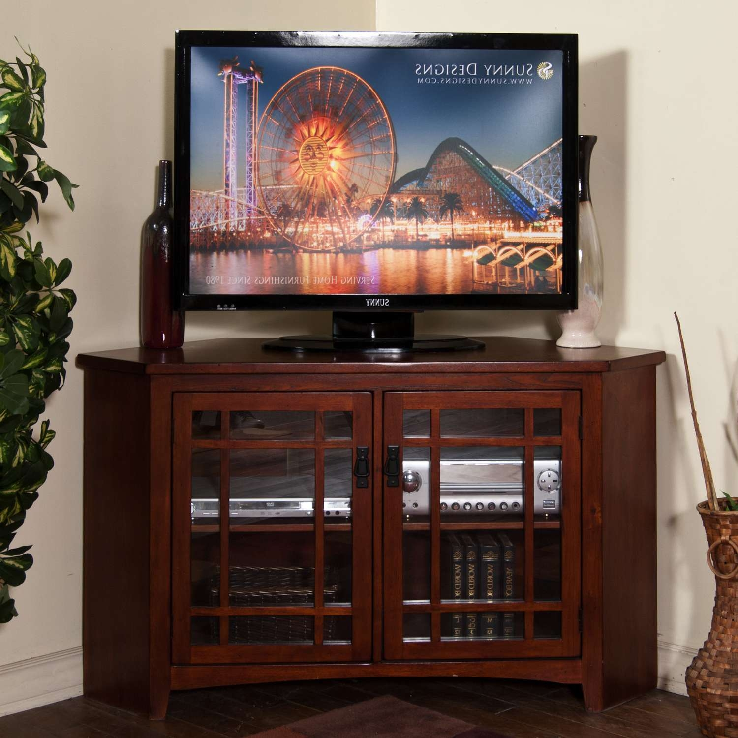 Tv Stand : Corner Tv Stand Wonderful Image Inspirations Stands Within 55 Inch Corner Tv Stands (View 19 of 20)