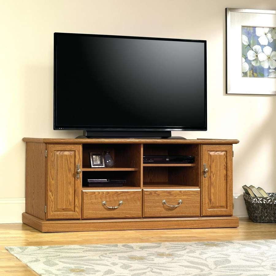 Tv Stand : Credenza Tv Stand Entertainment Sauder Barrister Lane Throughout Lane Tv Stands (View 13 of 15)