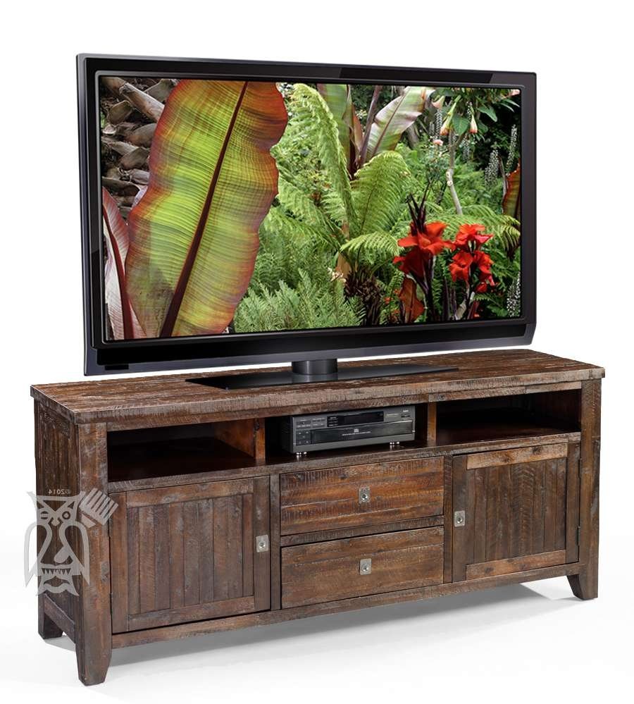 Tv Stand : Dark Wood Tv Stand Rustic Standsdark Brown Cherry With Regard To Dark Wood Tv Cabinets (View 8 of 20)