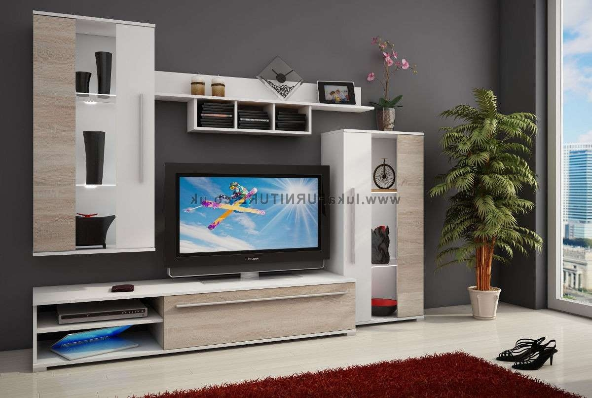 Tv Stand Fabio Ii Modular Componets – 235cm Wide Intended For Modular Tv Stands Furniture (View 3 of 15)