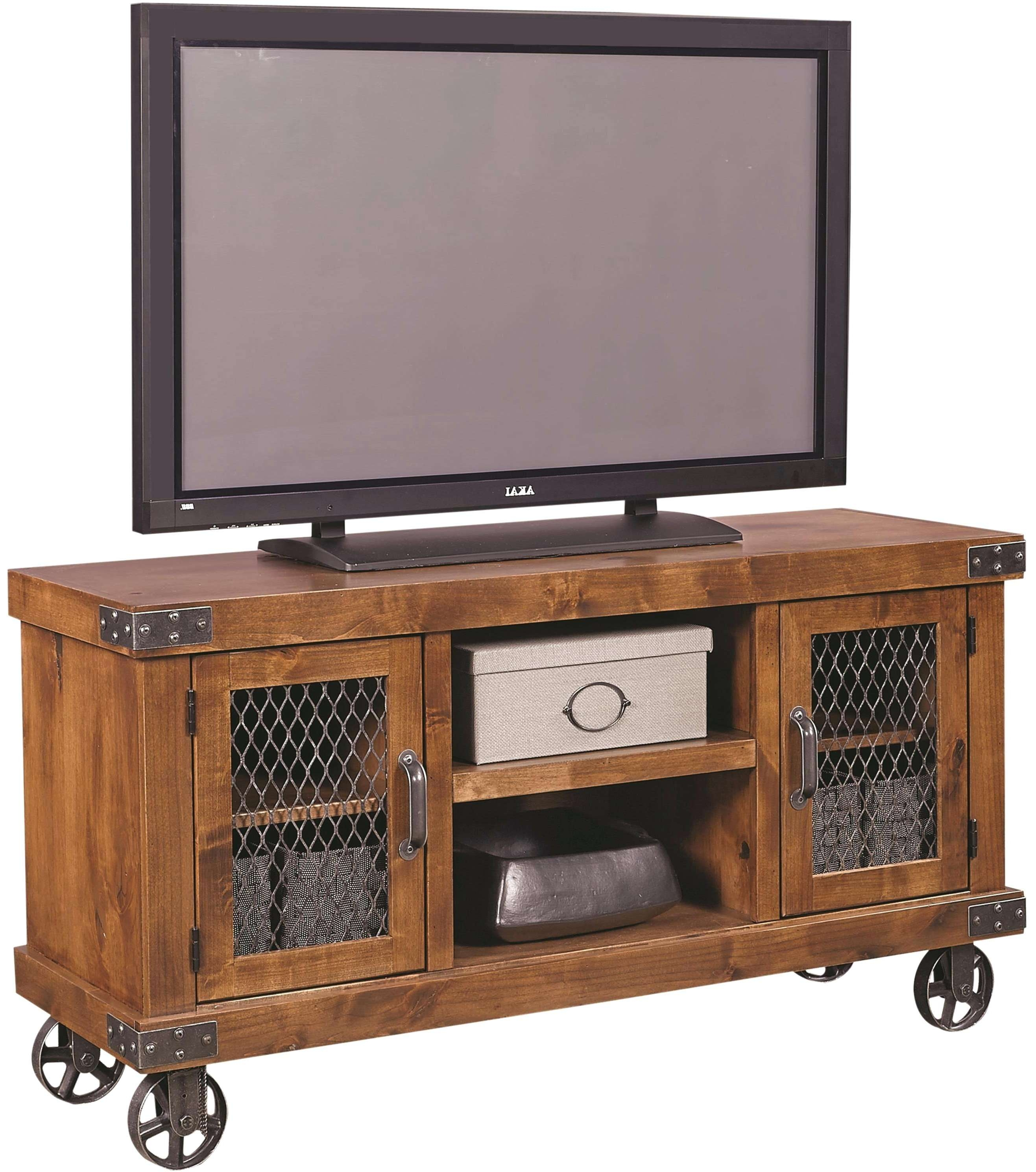 Tv Stand Industrial Corner Cabinet Within Stands