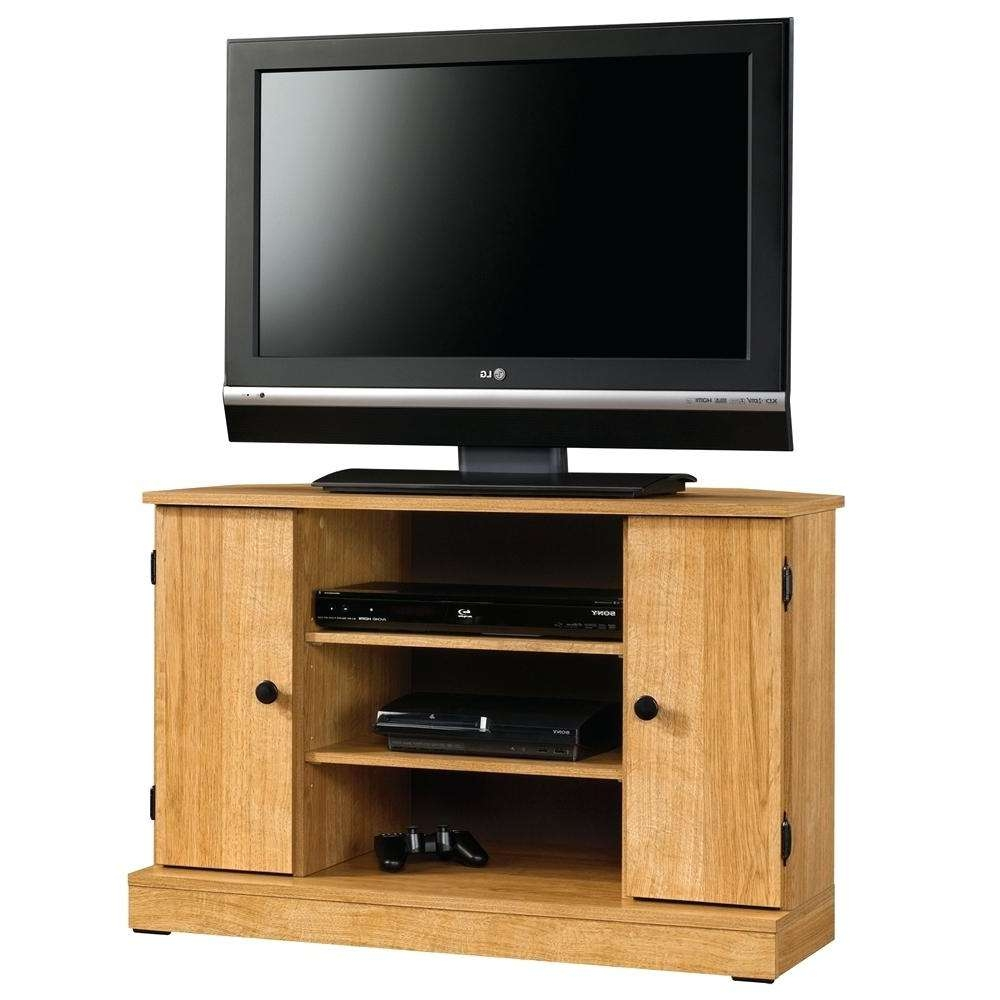 Tv Stand : Oak Corner Tv Stand 2 Door Unit With Regard To Sizing X Pertaining To Oak Corner Tv Stands For Flat Screens (View 12 of 15)
