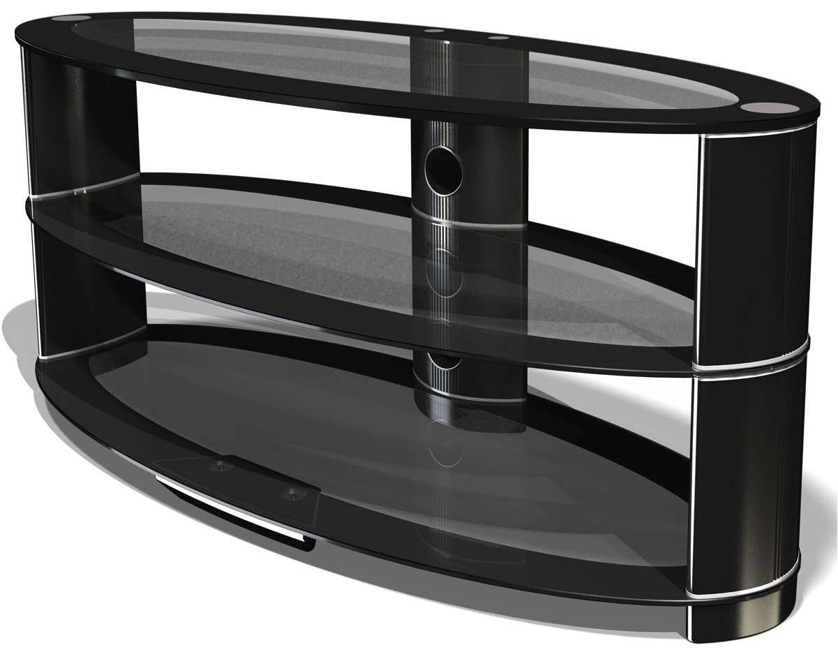 Tv Stand : Oval Tv Stand Jual Curved Jf207 The Home Company Awful For Black Oval Tv Stands (View 15 of 15)