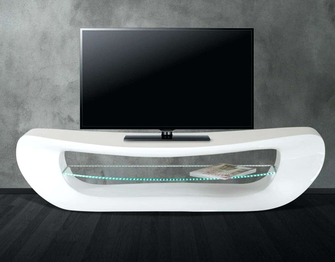Tv Stand : Oval White Tv Stand Glass Fronted Cabinet With Mount 60 Throughout White Gloss Oval Tv Stands (View 17 of 20)