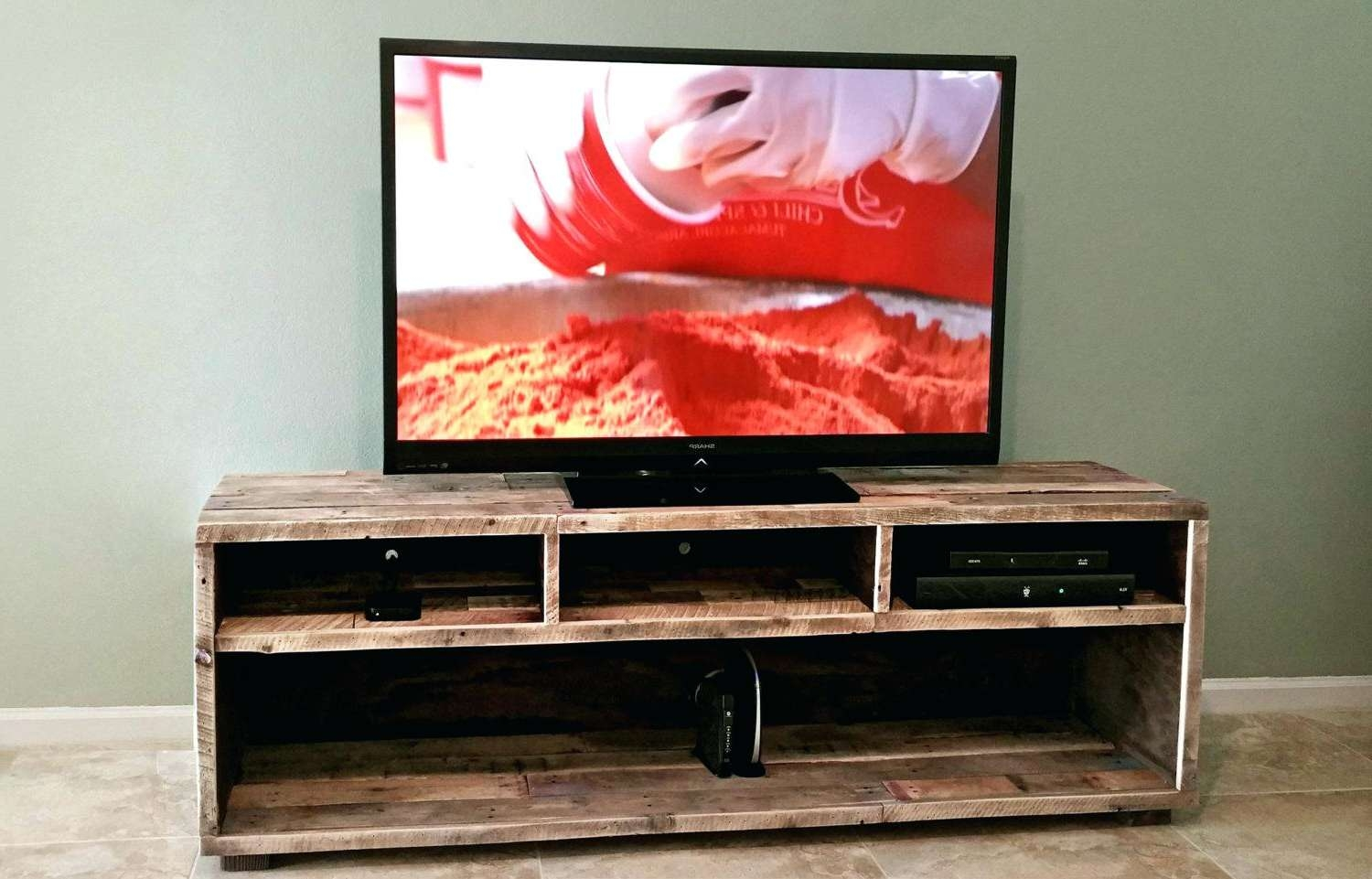 Tv Stand : Rustic Red Tv Stand Solid Wood Oak For Up To S In Rustic Red Tv Stands (View 19 of 20)
