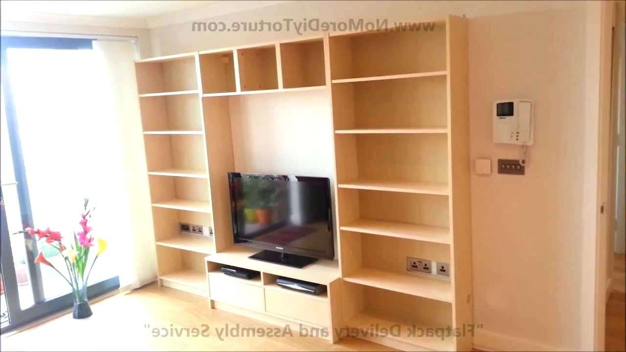 Tv Stand : Tv Stand Bookcase Combo Full Size Of Furniture And Regarding Tv Stands Bookshelf Combo (View 8 of 15)