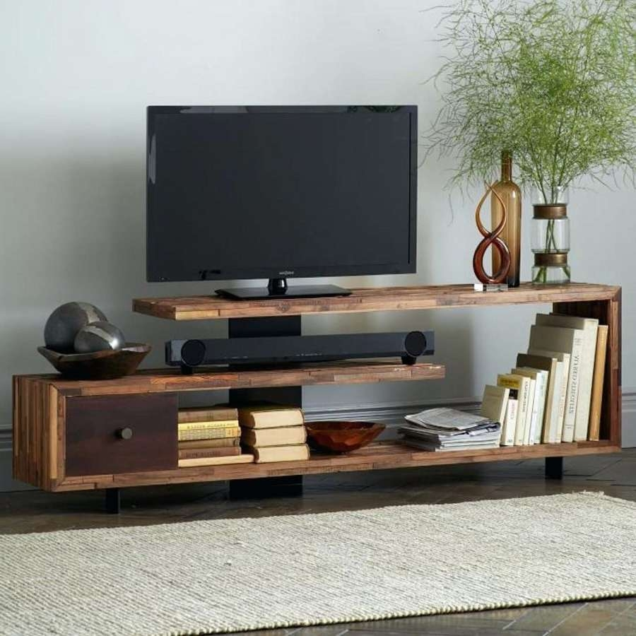 Tv Stand : Unique Tv Stand Of The Best Media Consoles Stands For Pertaining To Unique Tv Stands For Flat Screens (View 9 of 15)