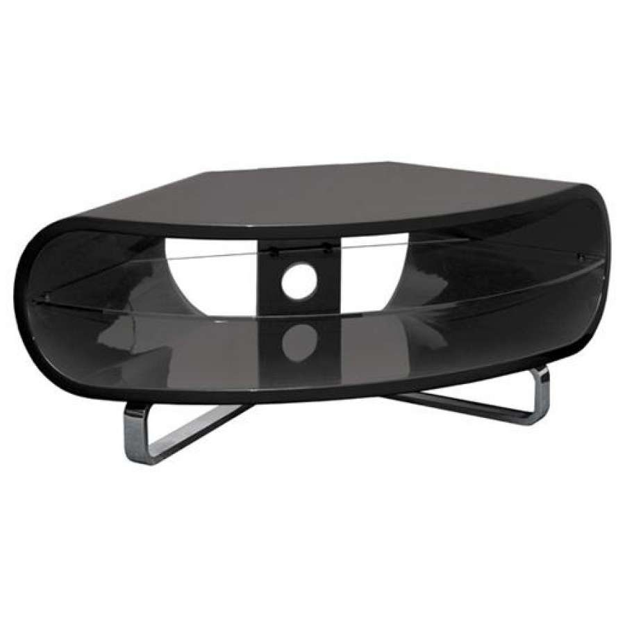 Tv Stand With Rounded Corners Round Designs In Stands View 9