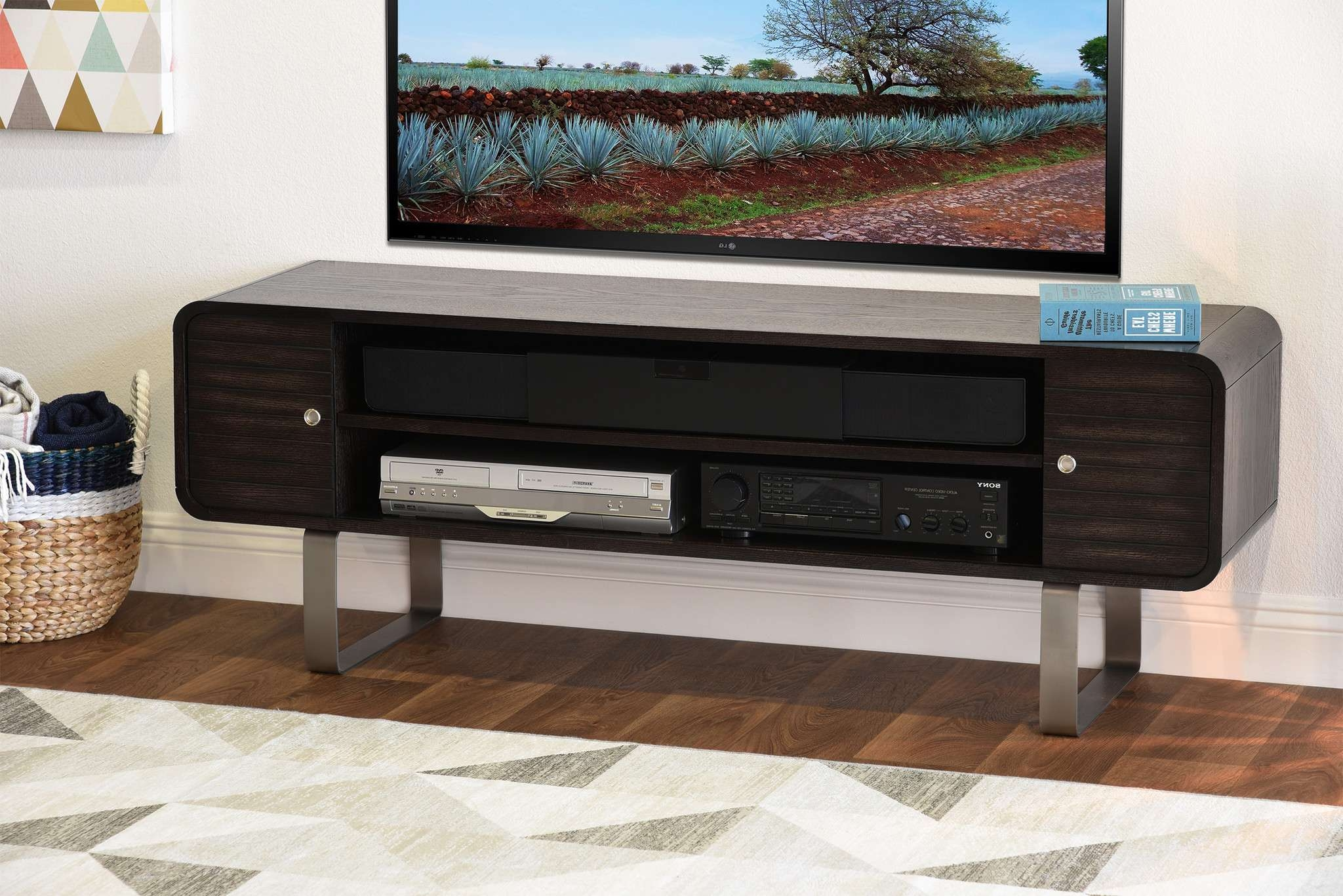 Tv Stand With Rounded Corners – Round Designs With Regard To Round Tv Stands (View 11 of 15)