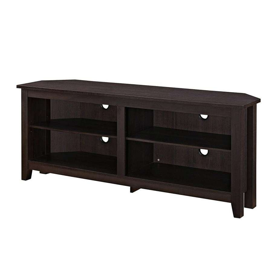 Tv Stand : Wooden Corner Tv Stand 1 Small With Fireplace Wooden In Wooden Corner Tv Stands (View 14 of 15)