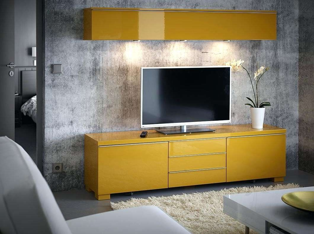 Tv Stand : Yellow Tv Stand Ikea Stands Pleasing Noteworthy Uk In Yellow Tv Stands (View 4 of 15)