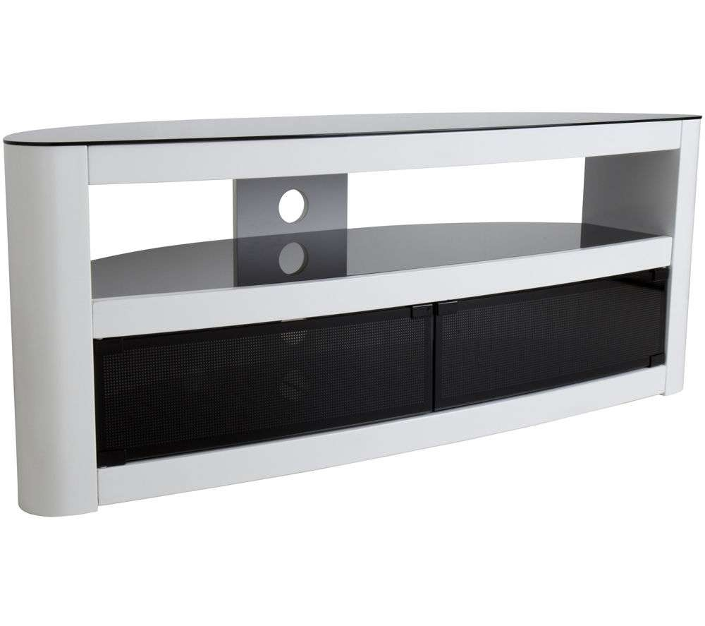 Tv Stands And Tv Units – Cheap Tv Stands And Tv Units Deals | Currys In Oval White Tv Stands (View 16 of 20)