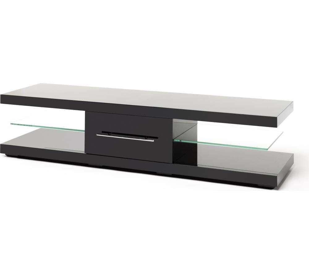 Tv Stands And Tv Units – Cheap Tv Stands And Tv Units Deals | Currys Inside Shiny Black Tv Stands (View 13 of 15)