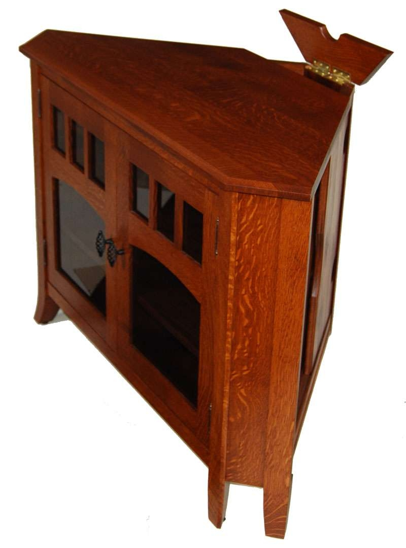 Featured Photo of Solid Wood Corner Tv Stands
