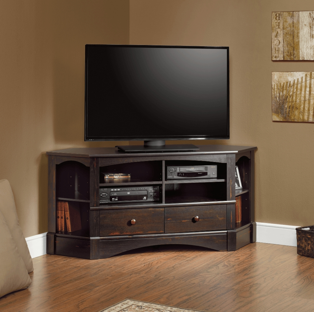 Tv Stands Corner Stand Inch Flat Screen For Fascinating Pictures For Corner 60 Inch Tv Stands (View 8 of 15)