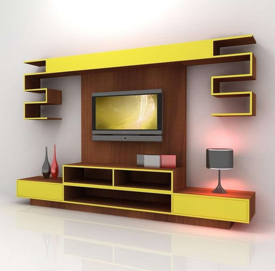 Tv Stands Corner Wallt Tv For Flat Screenswall Stand With Pics On Pertaining To Single Shelf Tv Stands (View 17 of 20)