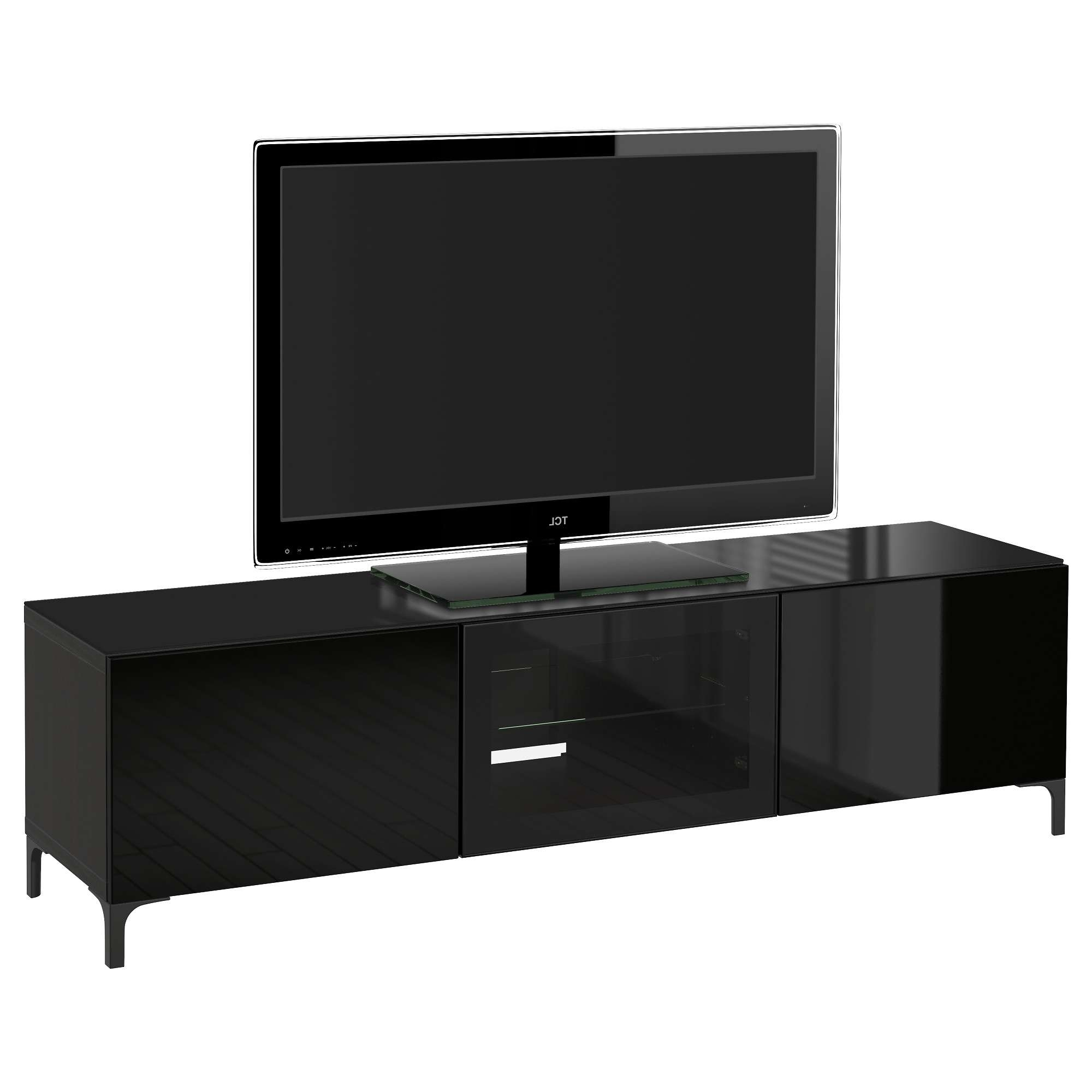Tv Stands & Entertainment Centers – Ikea With Black Tv Cabinets With Doors (View 7 of 20)