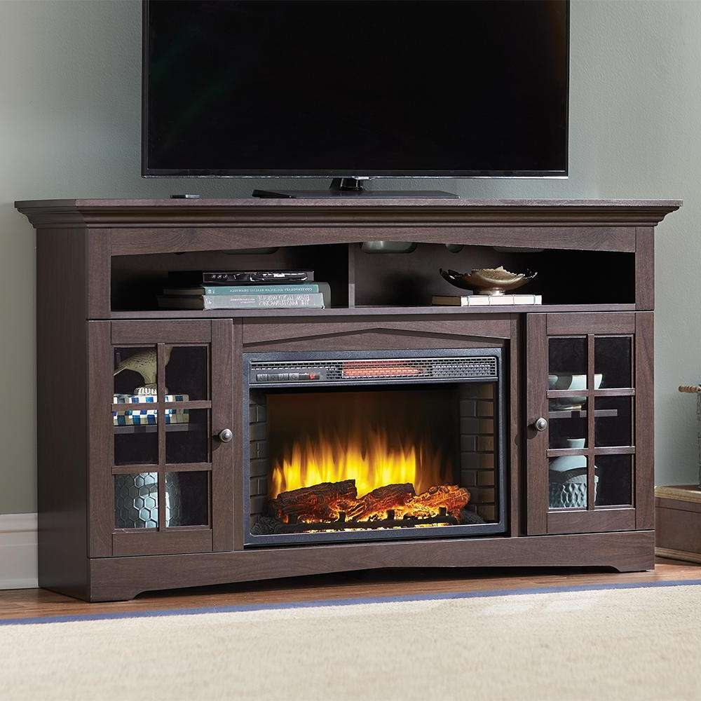 Tv Stands – Living Room Furniture – The Home Depot With 24 Inch Tall Tv Stands (View 11 of 15)