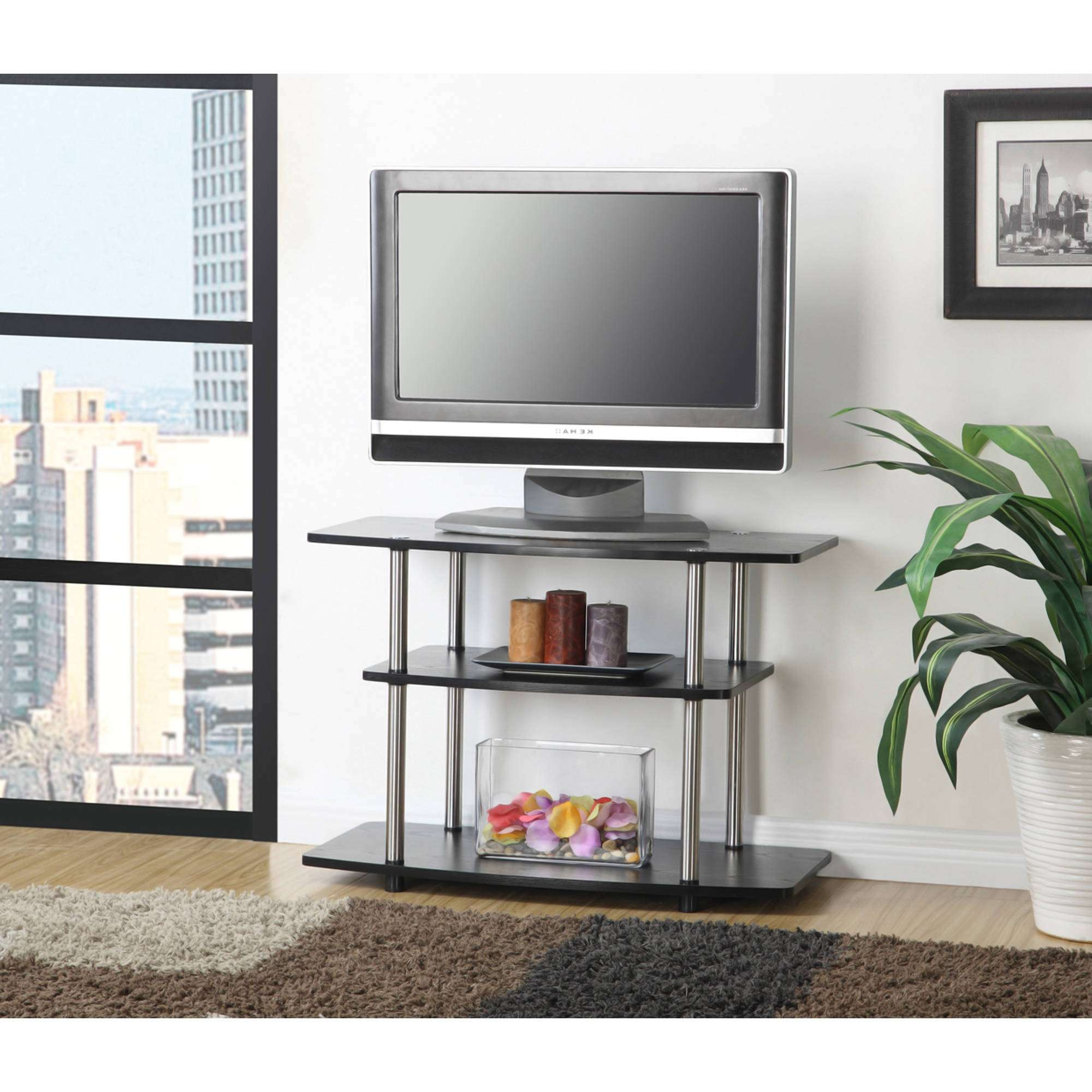 Tv Stands Top Cherry For Inch Flat Screens Astounding Curved Stand Throughout 32 Inch Tv Stands (View 15 of 15)