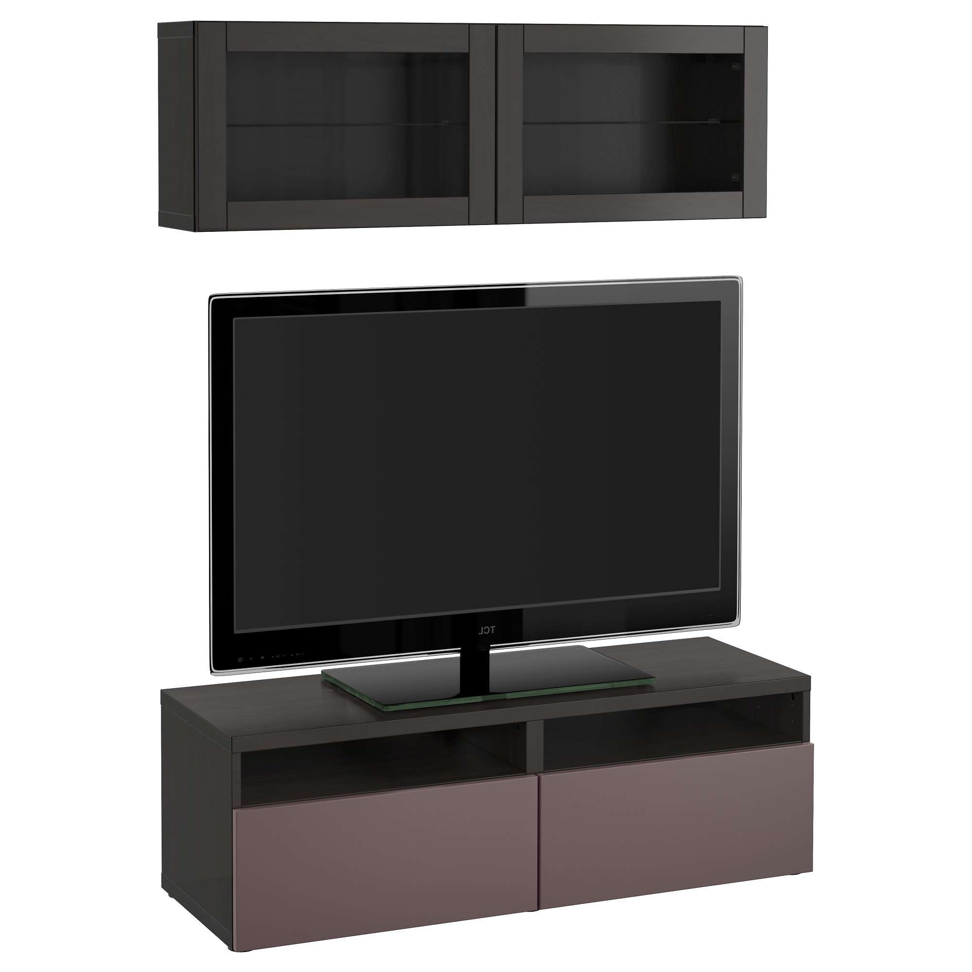 Tv Stands & Tv Units | Ikea In Glass Tv Cabinets With Doors (View 14 of 20)