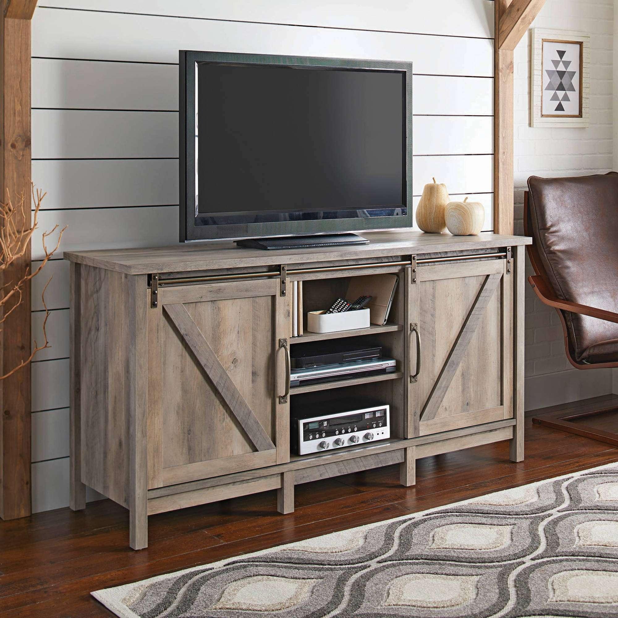 Tv Stands – Walmart Regarding Rustic Looking Tv Stands (View 14 of 15)