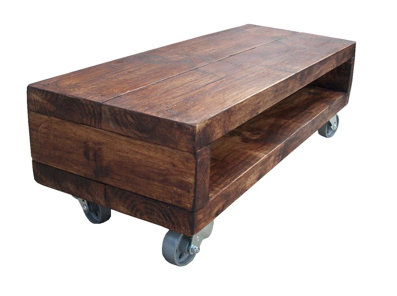 Tv Stands With Wheels Regarding Wooden Tv Stands With Wheels (View 13 of 15)