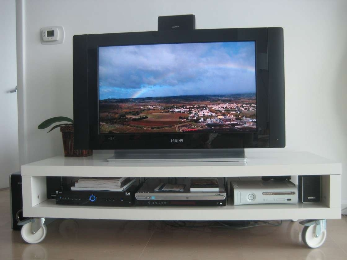 Tv Stands With Wheels Within Wooden Tv Stands With Wheels (View 14 of 15)