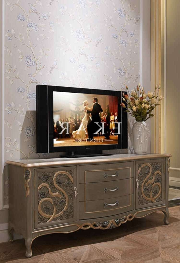 Tv Stands Wooden Furniture Marble Tv Stand Living Room Furniture In Classic Tv Stands (View 14 of 15)