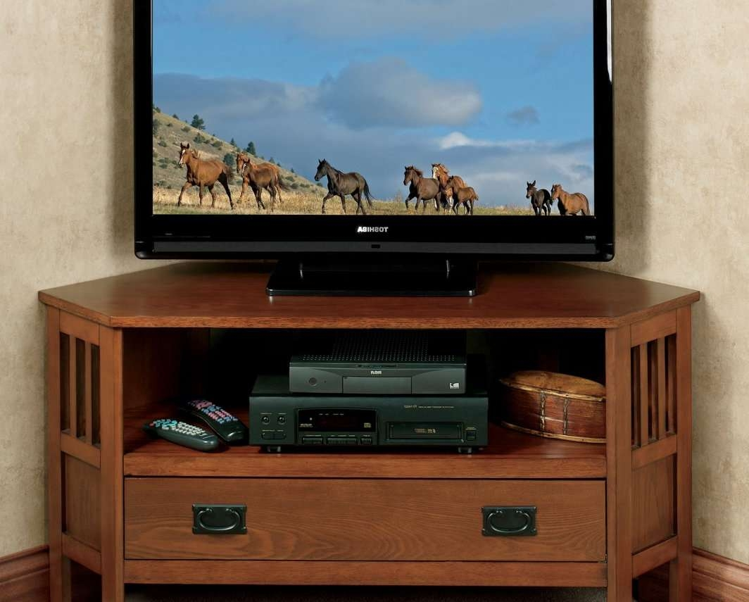 Tv : Stimulating Corner Tv Stand For 32 Inch Flat Screen Inside Corner Tv Stands 46 Inch Flat Screen (View 15 of 15)