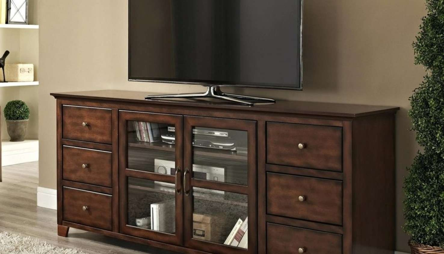 Tv : Stunning Bedroom Tv Stand Design Stunning Tall Tv Stands For Regarding Tall Tv Stands For Flat Screen (View 11 of 15)