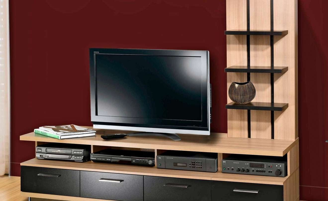 Tv : Stunning Dark Walnut Tv Stands Furniture Interior Wall With Dark Walnut Tv Stands (View 14 of 15)