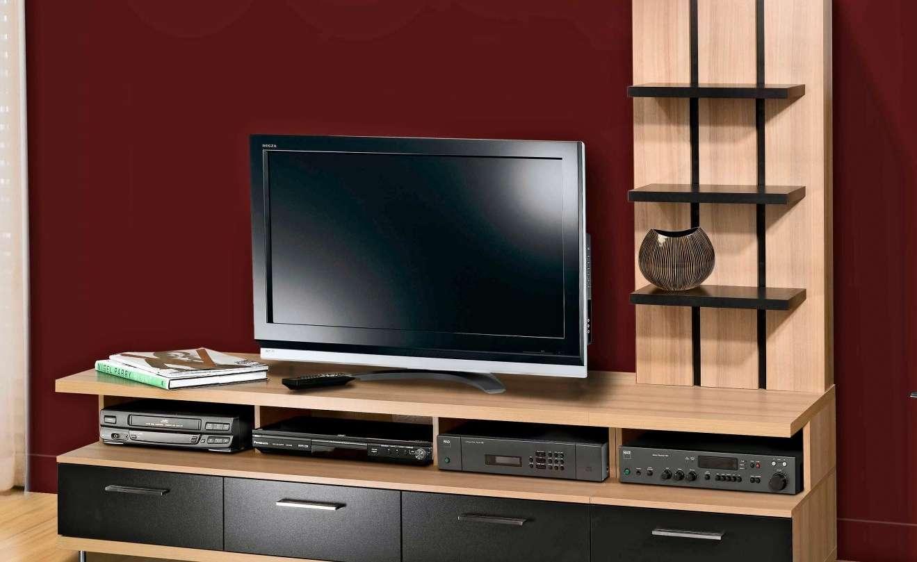 Tv : Stunning Dark Walnut Tv Stands Furniture Interior Wall With Regard To Dark Walnut Tv Stands (View 14 of 15)