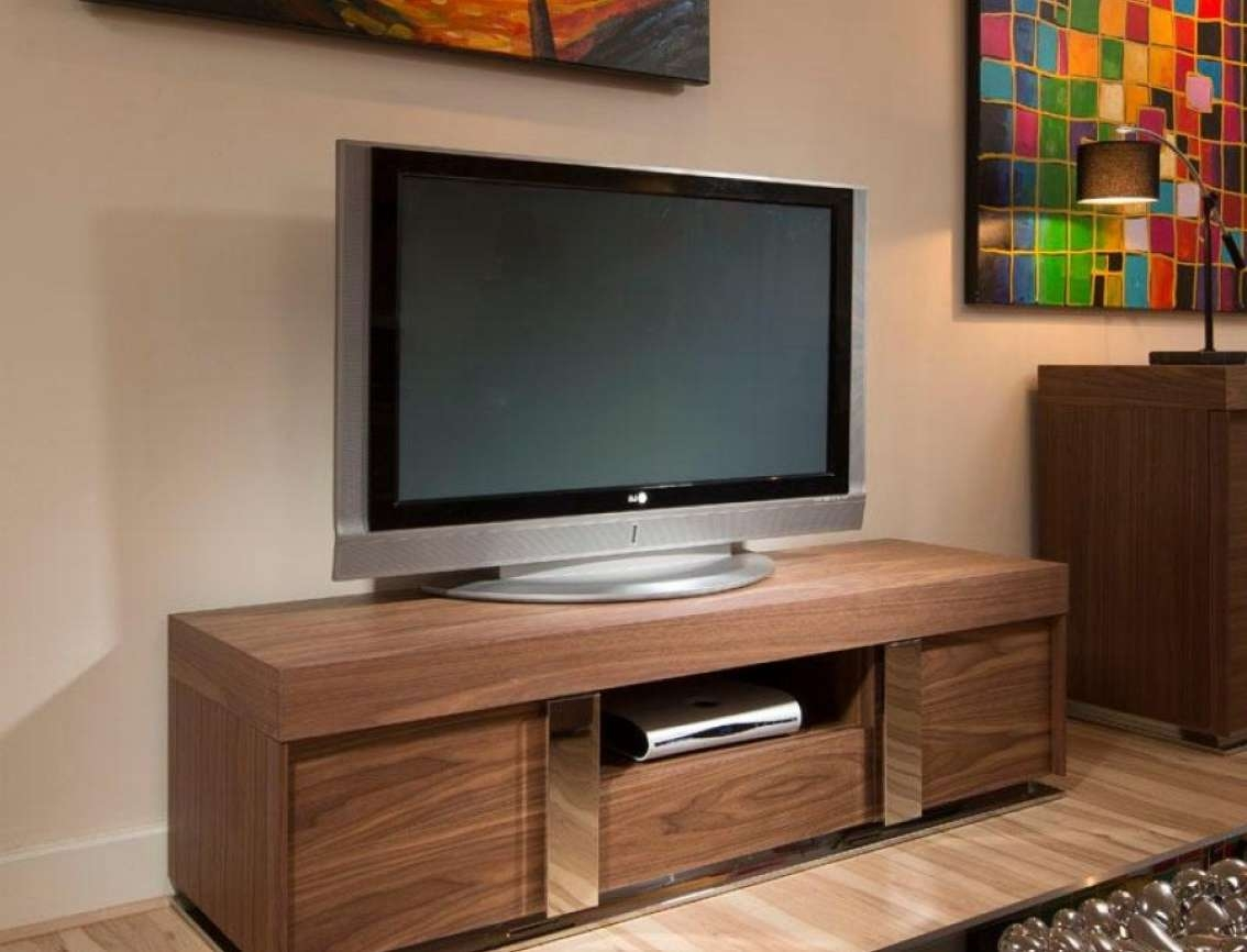Tv : Stunning Dark Walnut Tv Stands Furniture Interior Wall With Regard To Dark Walnut Tv Stands (View 15 of 15)