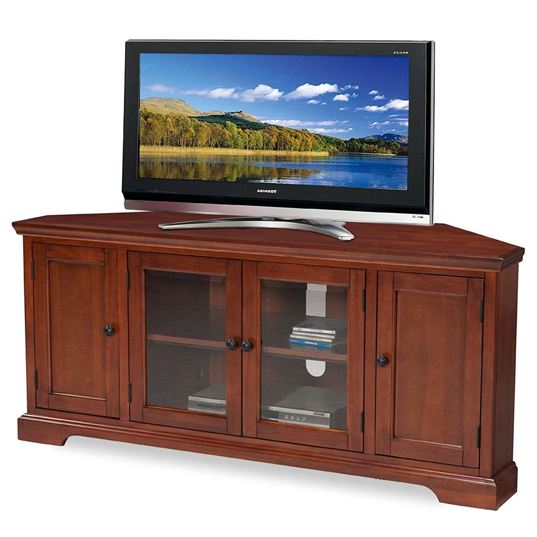 Tv : Stunning Mahogany Corner Tv Cabinets Isabella Brushed Acacia Pertaining To Mahogany Corner Tv Cabinets (View 13 of 20)