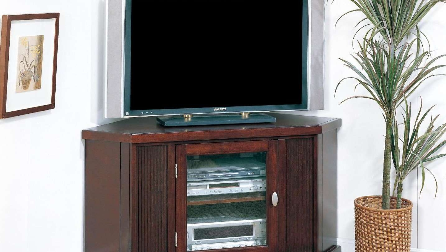 Tv : Stunning Walnut Tv Stands For Flat Screens Large Television For Walnut Tv Stands For Flat Screens (View 8 of 20)