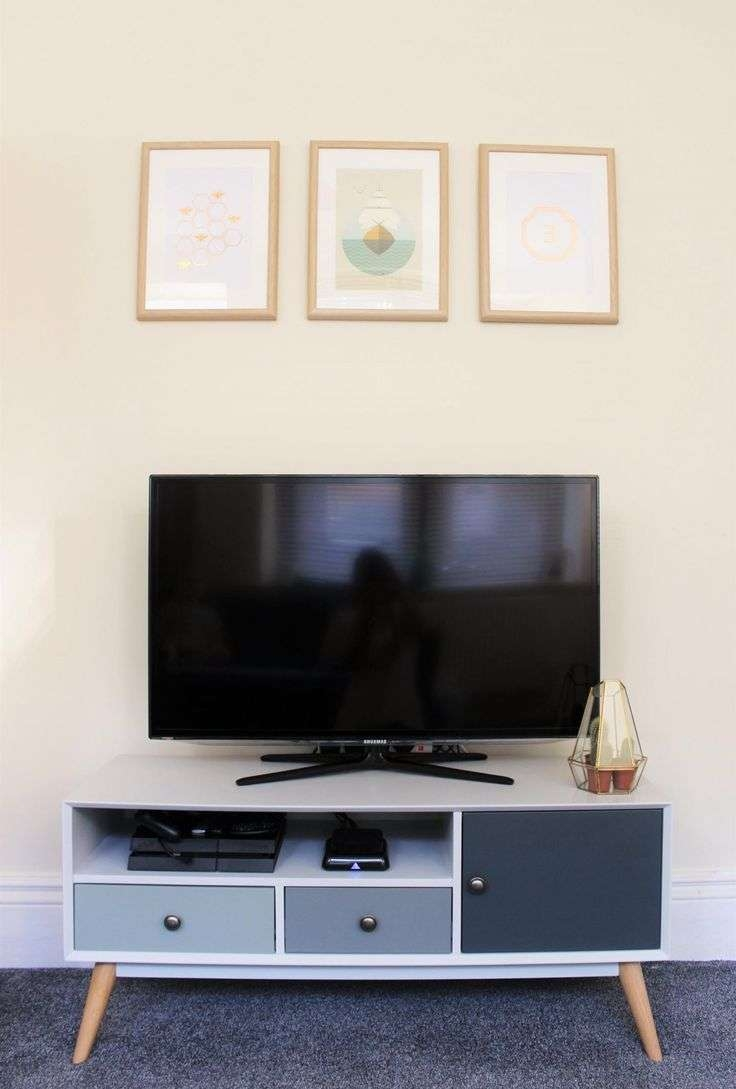 Tv : Trend Solid Chunky Oak Large Tv Dvd Video Stand Stunning With Regard To Chunky Tv Cabinets (View 13 of 20)