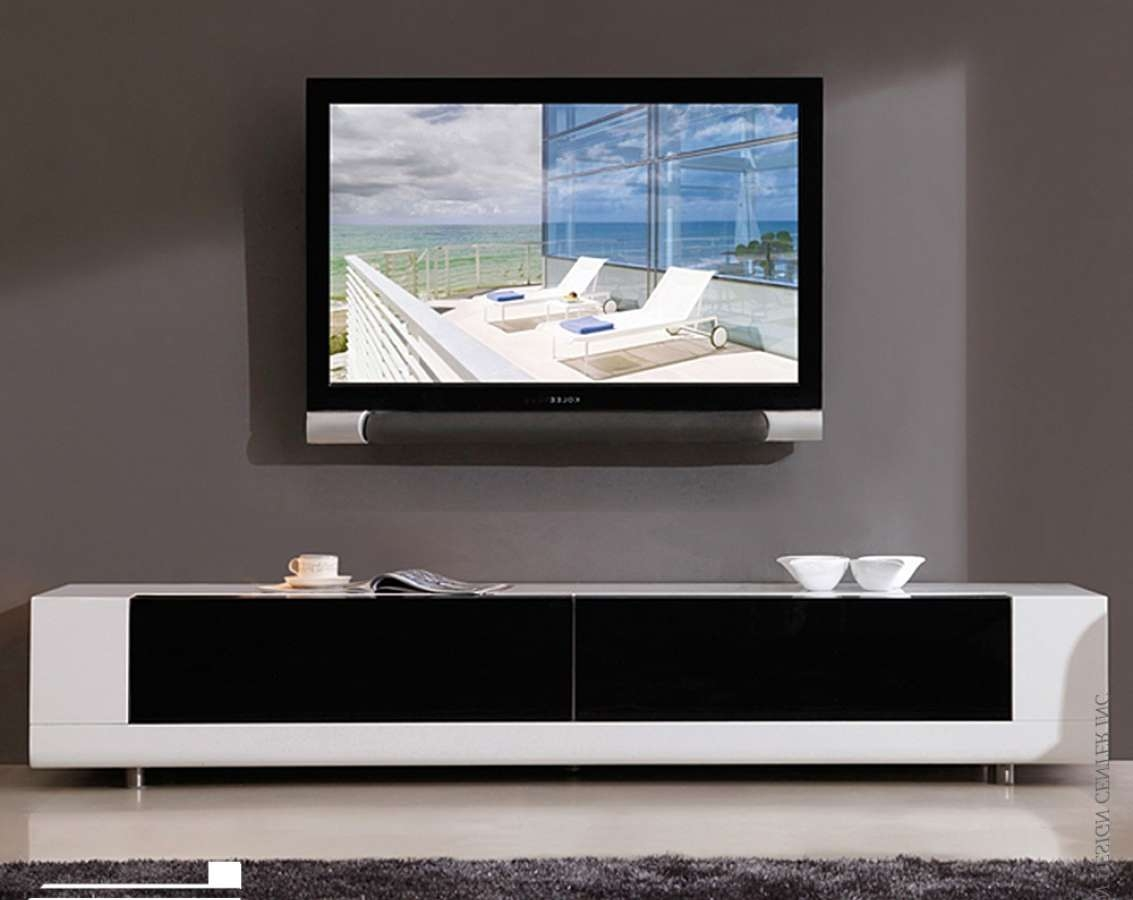 Tv : Tv Stands Media Centers Amazing Low Profile Contemporary Tv In Low Profile Contemporary Tv Stands (View 14 of 15)