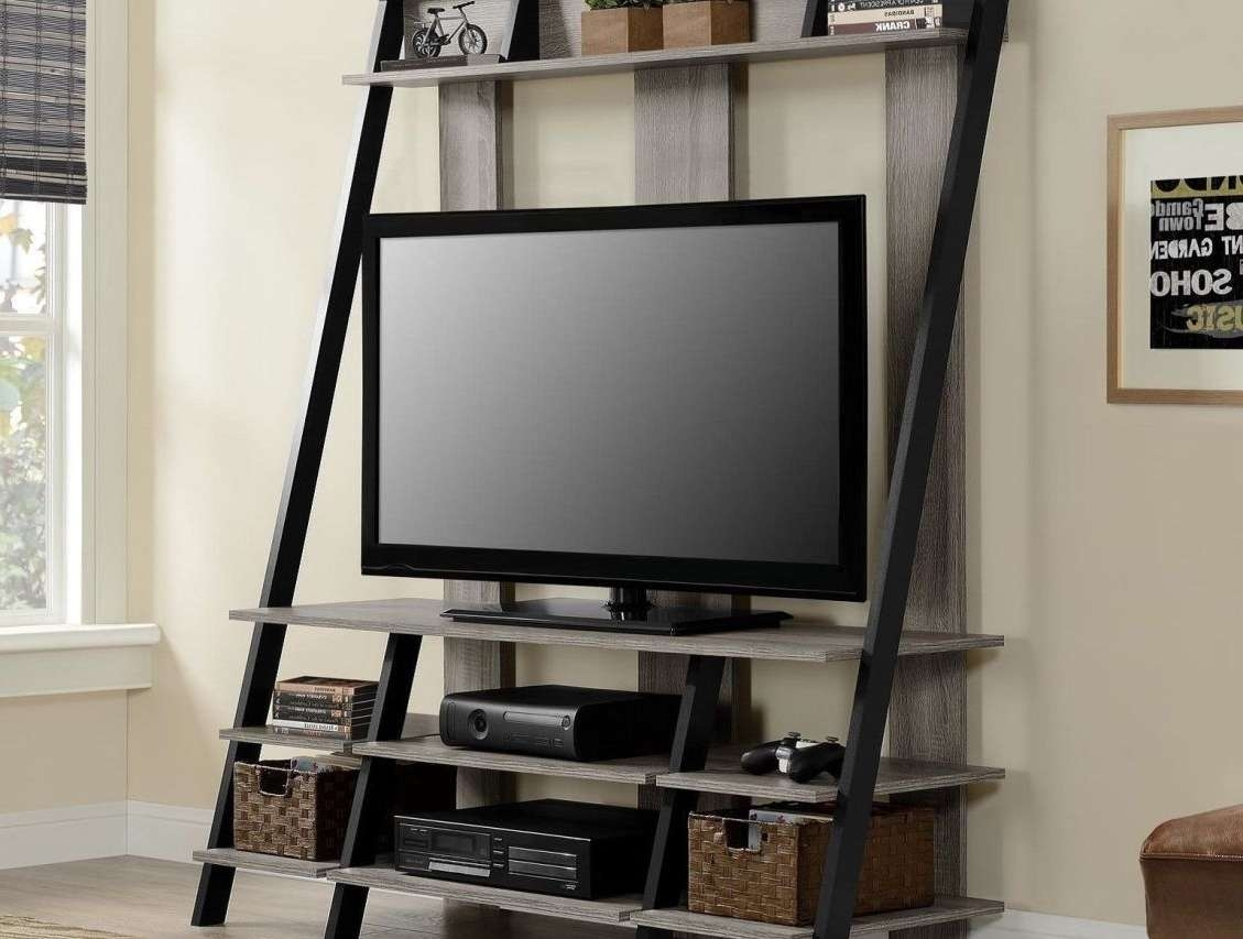 Tv : Tv Stands With Storage Baskets Extraordinary Tv Stand With Within Tv Stands With Storage Baskets (View 6 of 15)