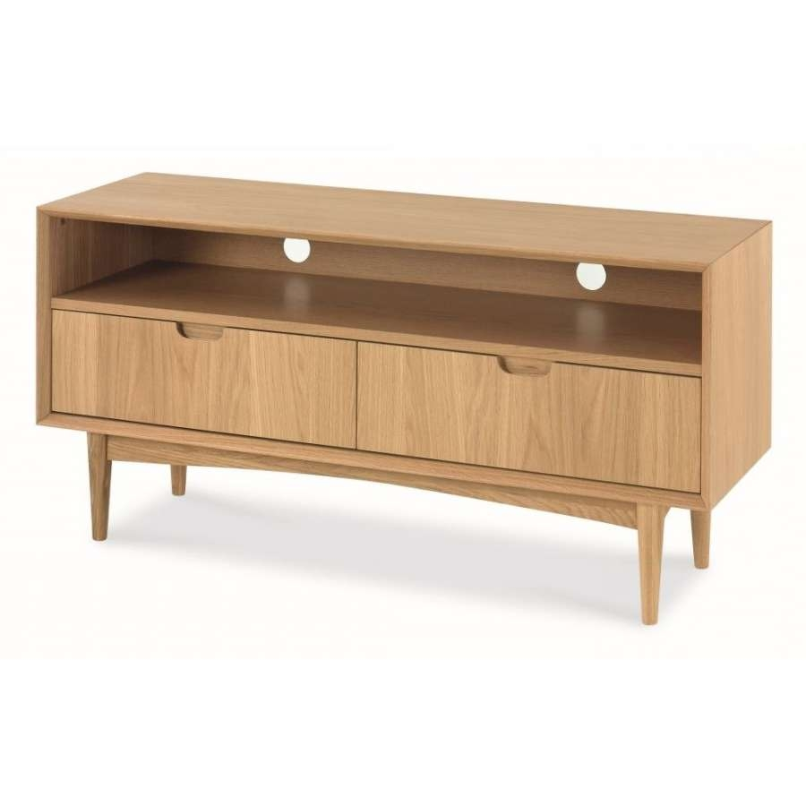 Tv Unit In Low Oak Tv Stands (View 18 of 20)