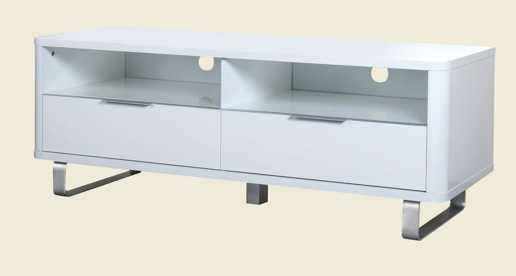 Tv Unit White For White High Gloss Tv Stands (View 18 of 20)