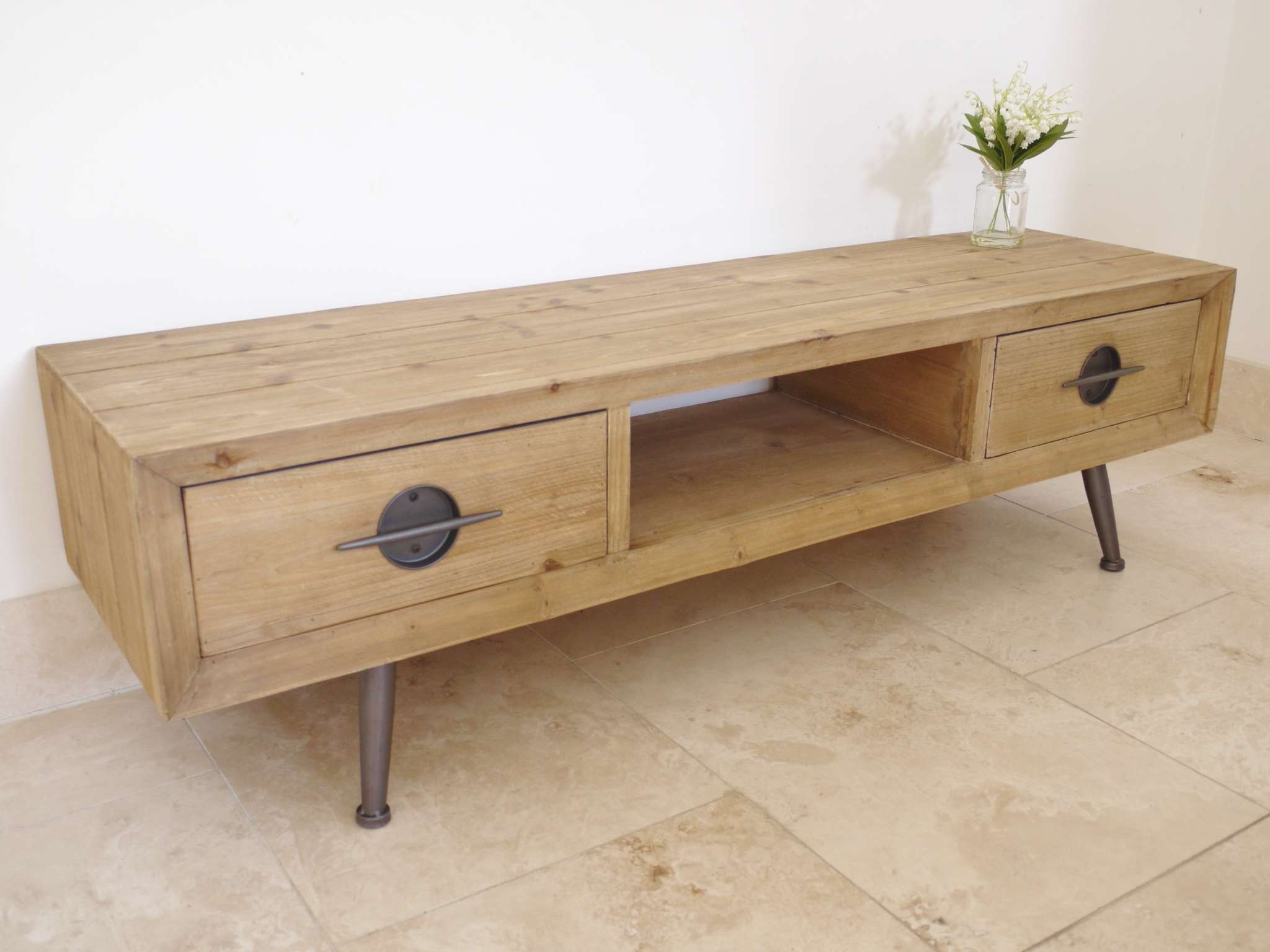 Tv Units | Tv Stands | Tv Cabinets For Sale Uk – Elm Home And Garden Within Vintage Style Tv Cabinets (View 20 of 20)