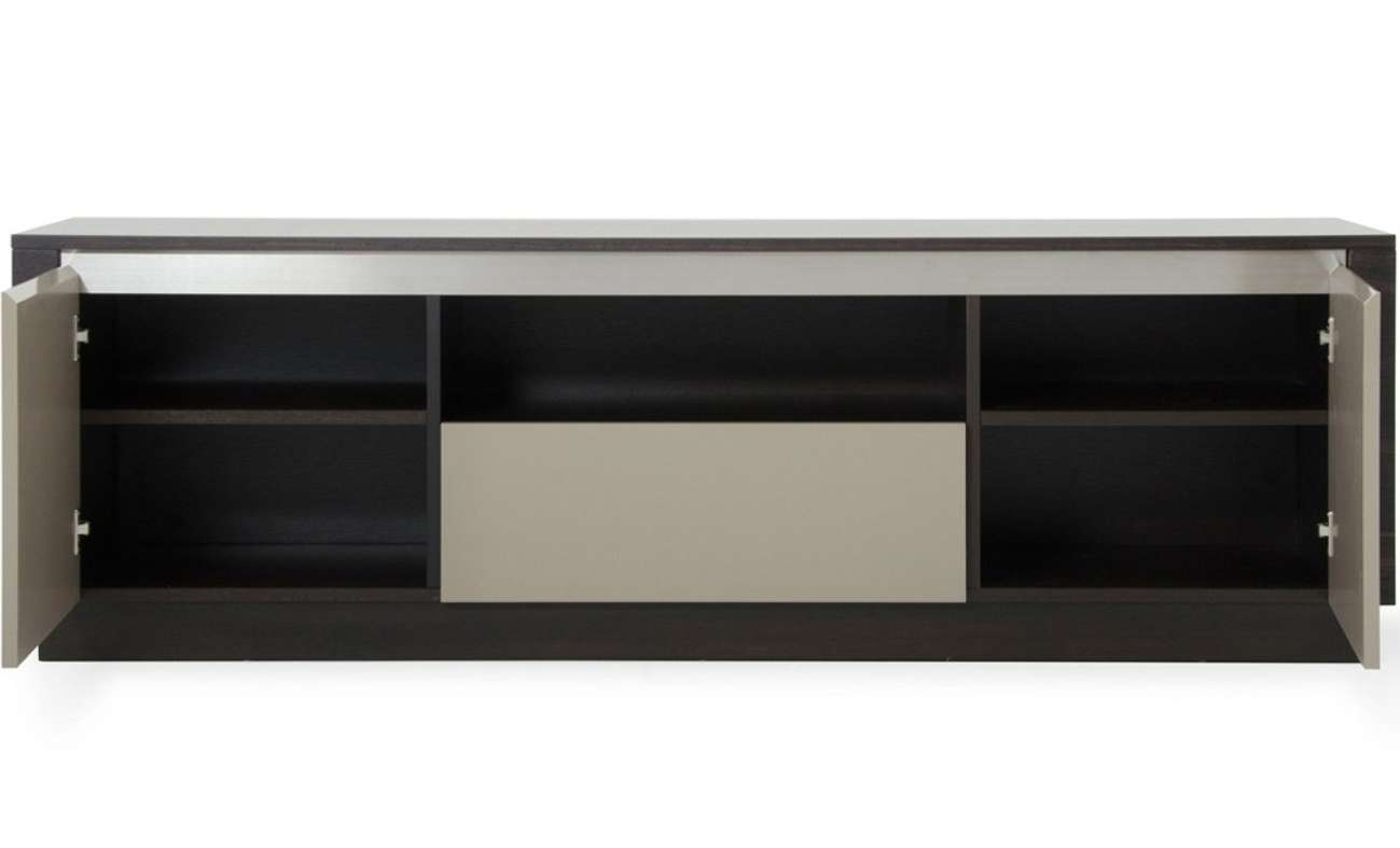 Tv : Vig A Caligari Modern Tv Stand In Oak Grey Gloss Amazing Throughout Stand And Deliver Tv Stands (View 3 of 20)