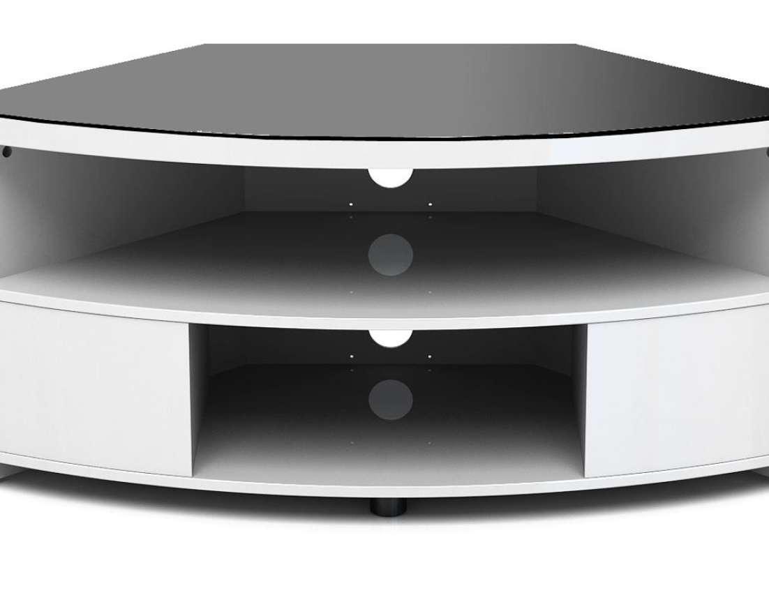 Tv : White High Gloss Corner Tv Stands Magnificent White High With White High Gloss Corner Tv Stands (View 7 of 20)