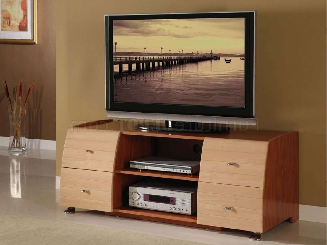 Tv : White Tv Stands Wonderful Maple Tv Stands For Flat Screens With Maple Tv Stands For Flat Screens (View 13 of 15)