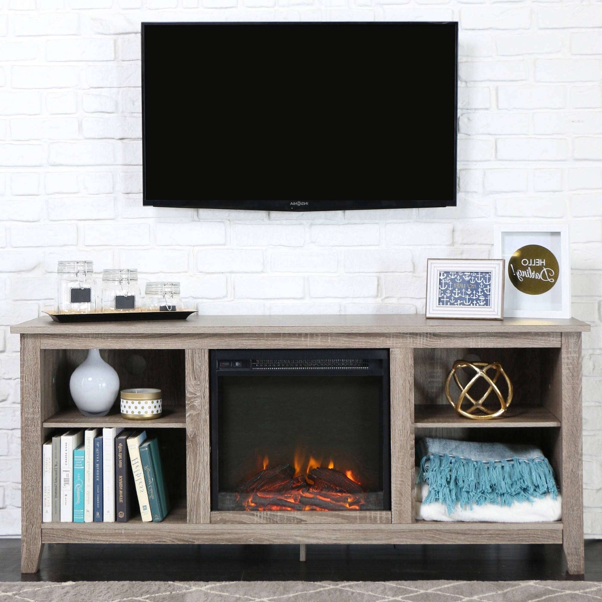 Tv : Wonderful Tv Stands For 70 Inch Tvs Walker Edison Driftwood For Tv Stands For 70 Inch Tvs (View 16 of 20)