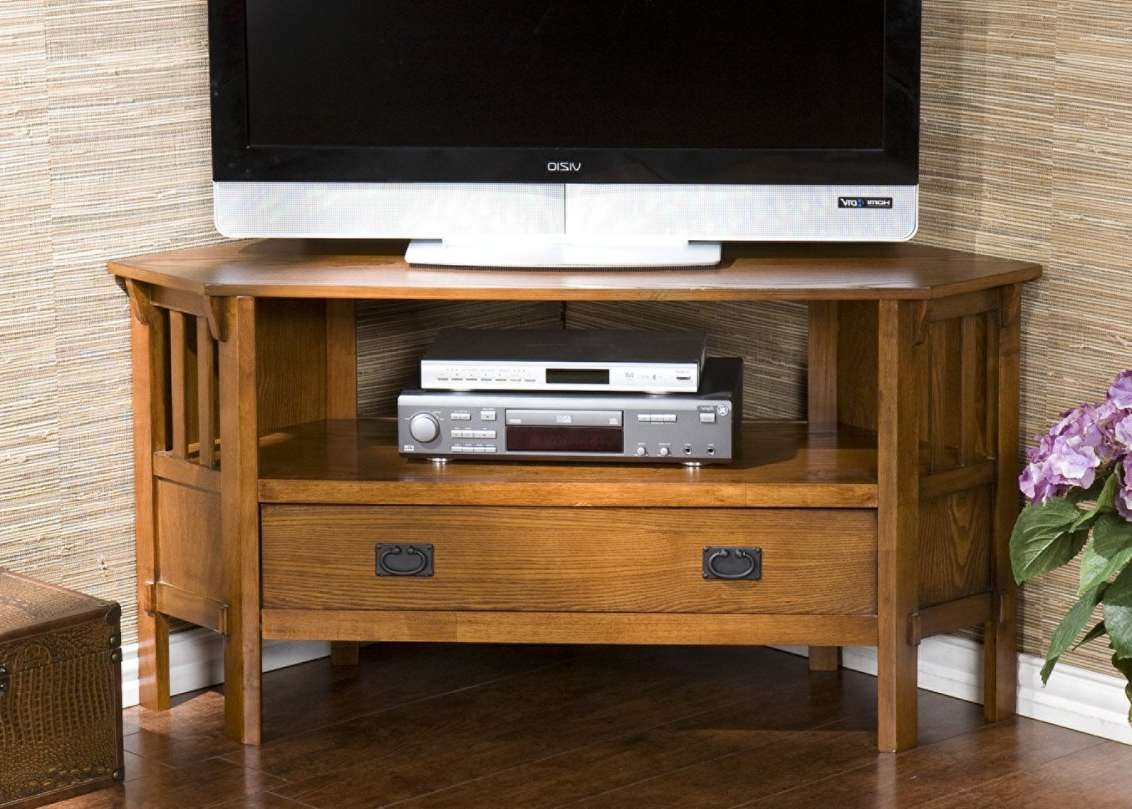 Tv : Wooden Corner Tv Cabinets For Flat Screens Wonderful Corner With Corner Oak Tv Stands For Flat Screen (View 14 of 15)