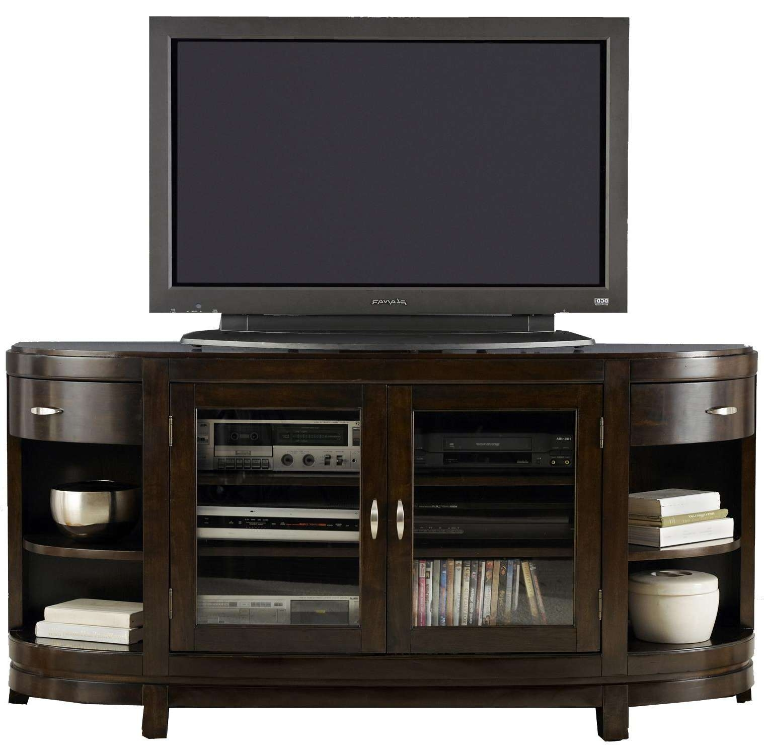 Two Door Entertainment Tv Stand With Drawers And Shelves Inside Tv Stands With Drawers And Shelves (View 11 of 15)