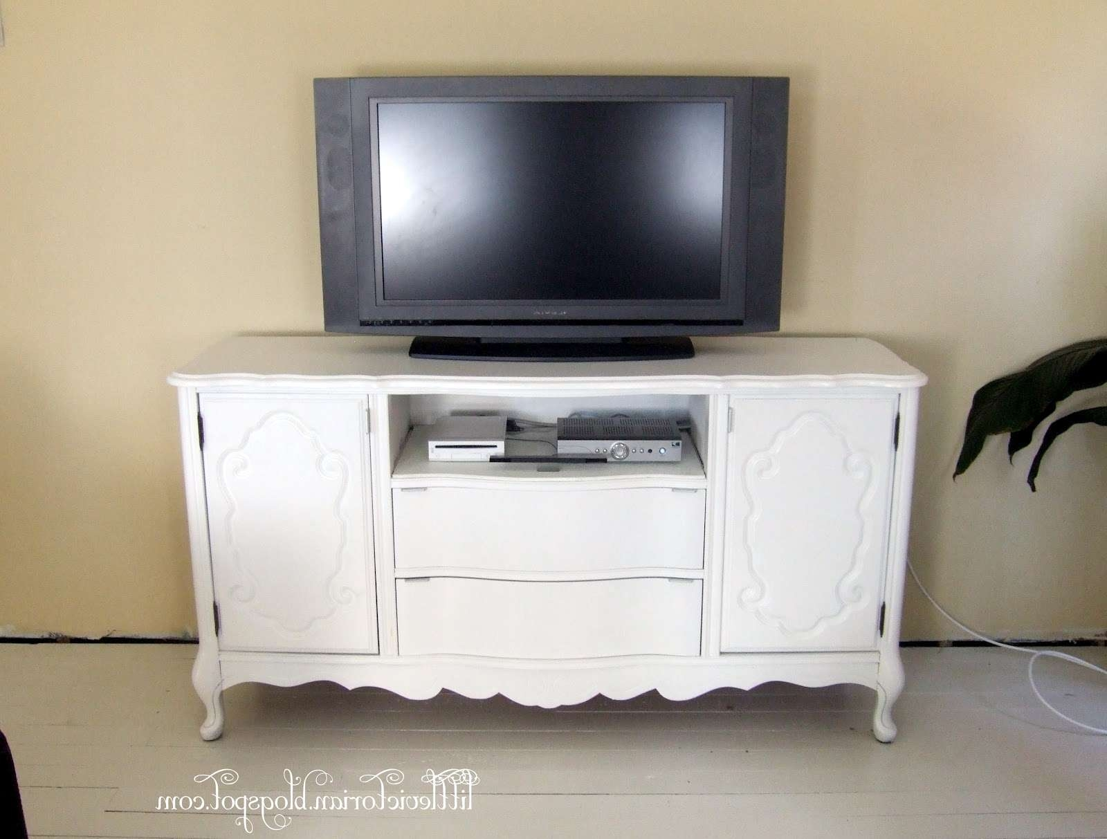Ugly Old Sideboard To Tv Stand – Little Victorian With Regard To Sideboard Tv Stands (Gallery 1 of 20)