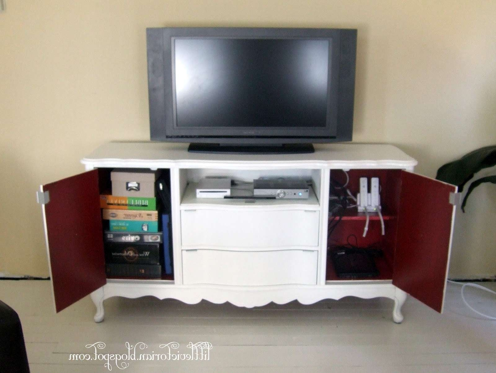 Ugly Old Sideboard To Tv Stand – Little Victorian Within Sideboard Tv Stands (View 18 of 20)