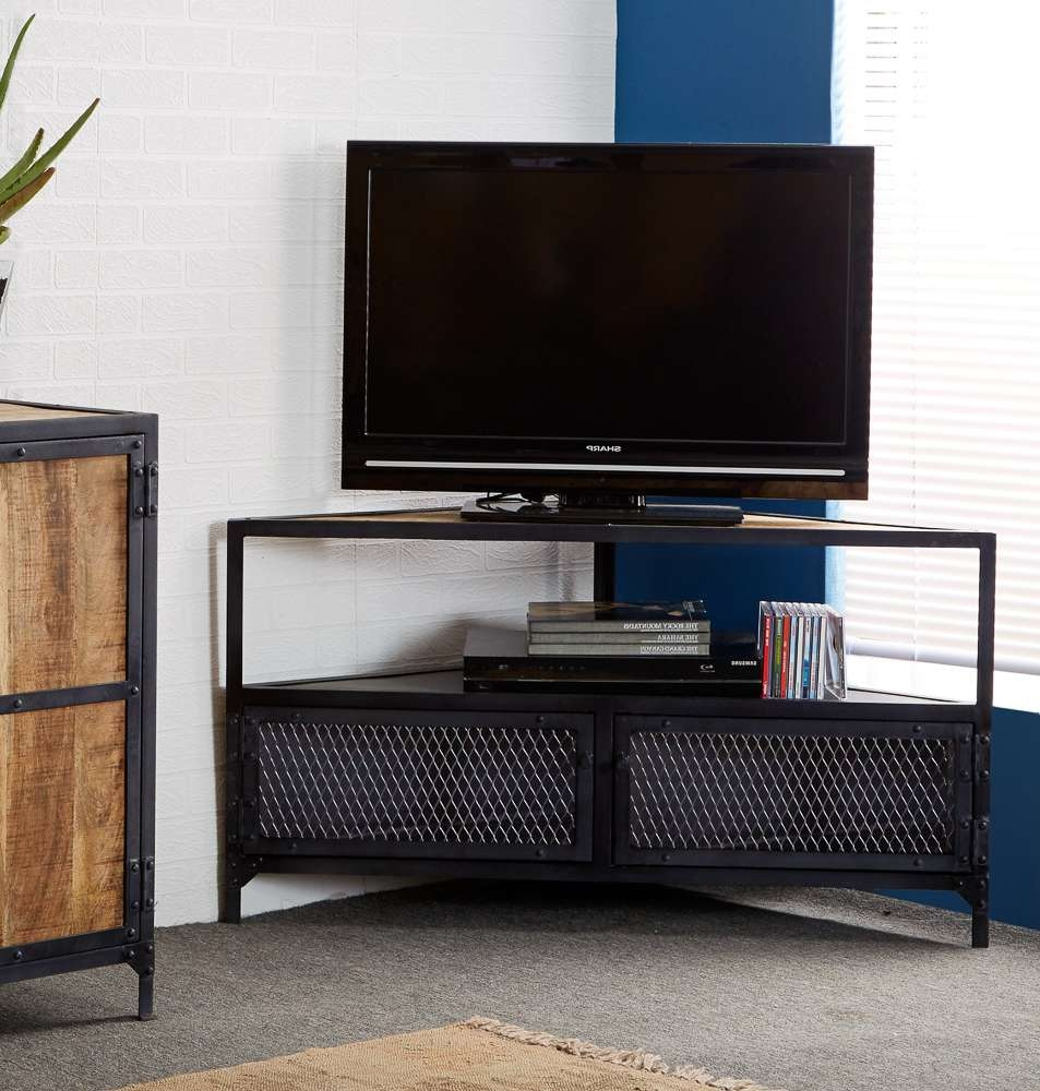 Unique Corner Tv Stands Inspirations Ideas Top Contemporary Design With Contemporary Corner Tv Stands (View 14 of 15)